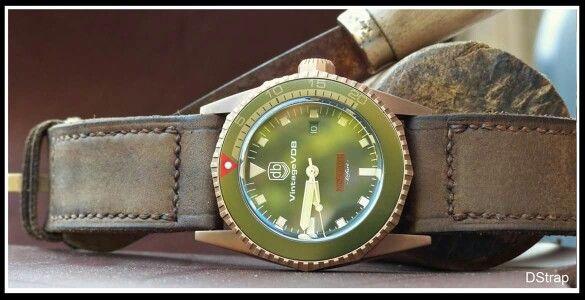 VintageVDB NoLimit bronze snapped on DStrap