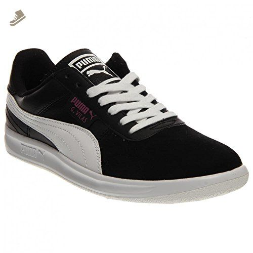 PUMA Women's G.Vilas Basic Sport Classic Sneaker, White/Black, 11 B US - Puma sneakers for women (*Amazon Partner-Link)