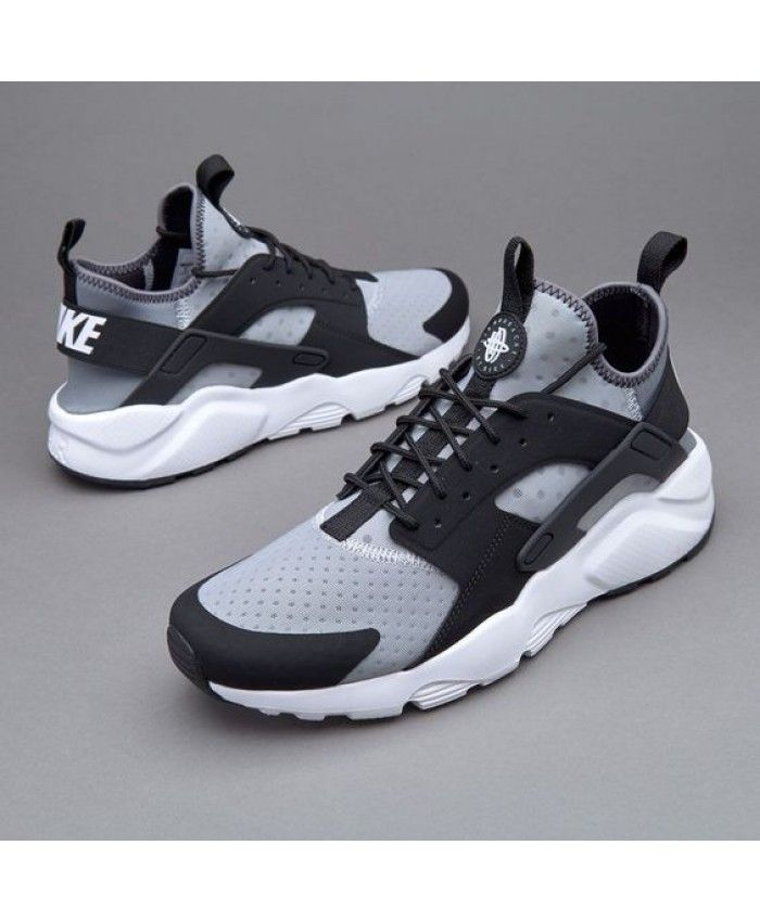 cde2c05741 Nike Sportswear Air Huarache Run Ultra Wolf Grey Trainer Clearance ...