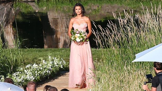 Julianne Hough's Bridesmaid Dresses: Nina Dobrev & More Stun In Pink Gowns https://tmbw.news/julianne-houghs-bridesmaid-dresses-nina-dobrev-more-stun-in-pink-gowns  Julianne Hough's bridesmaids, (including her BFF, Nina Dobrev!), looked gorgeous in a variety of blush gowns — and you can see the ethereal dresses right here!Julianne Hough looked simply stunning as she wed Brooks Laich in a gorgeous outdoor ceremony in Coeur d'Alene, Idaho, (near her family's home), where the bride walked down…