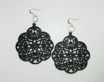 Arabesque Window Earrings