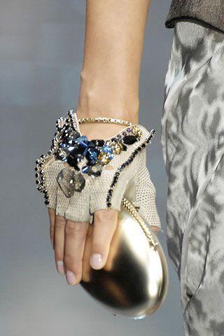 Armani Prive Gloves