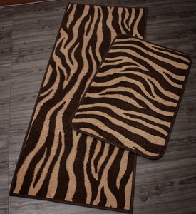 110x45 60x40 New Microfiber Zebra Pattern Kitchen Floor Bath Mat  Freeshiping | EBay