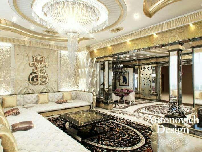 Exquisite Antonovich #WhiteandGold Majlis Design
