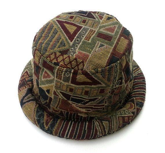 Cappello hippie per uomini donne Funky Bucket hat di Tribalover