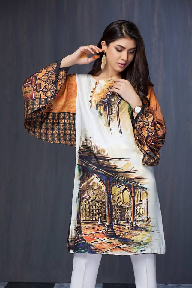 d6aa99d0288c Resham Ghar Unstitched Shirts 2018 for Winter