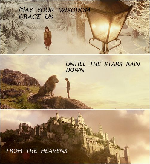 Narnia and the North. Until I saw that quote written it never reminded me of the Last Battle.