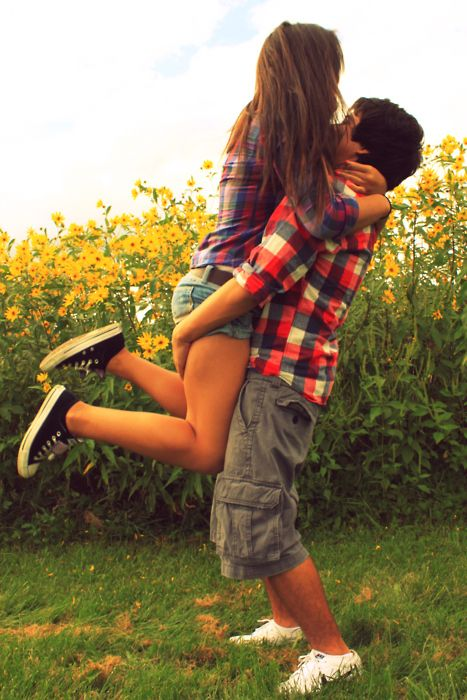 Cute Teenage Couples Kissing | boy, couple, cute, girl, happy - inspiring picture on Favim.com