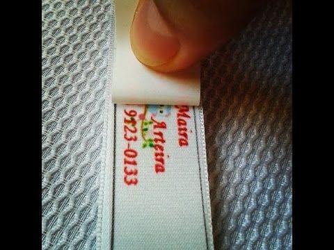 Uma Maneira simples mais eficiente para fabricar suas próprias etiquetas, fazendo que seus trabalhos artesanais fiquem com sua Logo sua Marca. A simple effic...