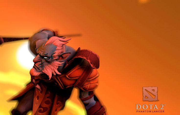 FanArt: Phantom Lancer - Sunset by mattlight07.deviantart.com on @deviantART