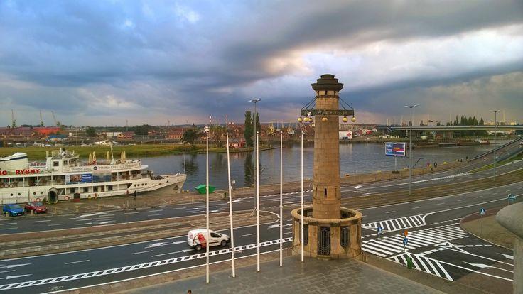 Szczecin. Wały Chrobrego.