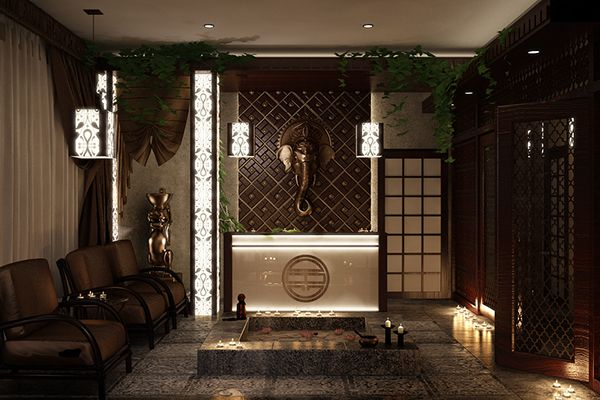 thai massage spa design - Google Search