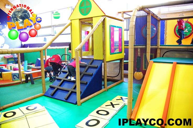 Soft Toddler Play Area at George's Playzone in Peppa Pig/Paulton's Park.  We designed, manufactured and installed the large themed indoor play area.  Contact sales@iplayco.com for your design. #weBUILDfun