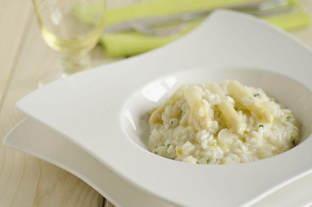 Risotto con asparagi bianchi di Bassano D.O.P.