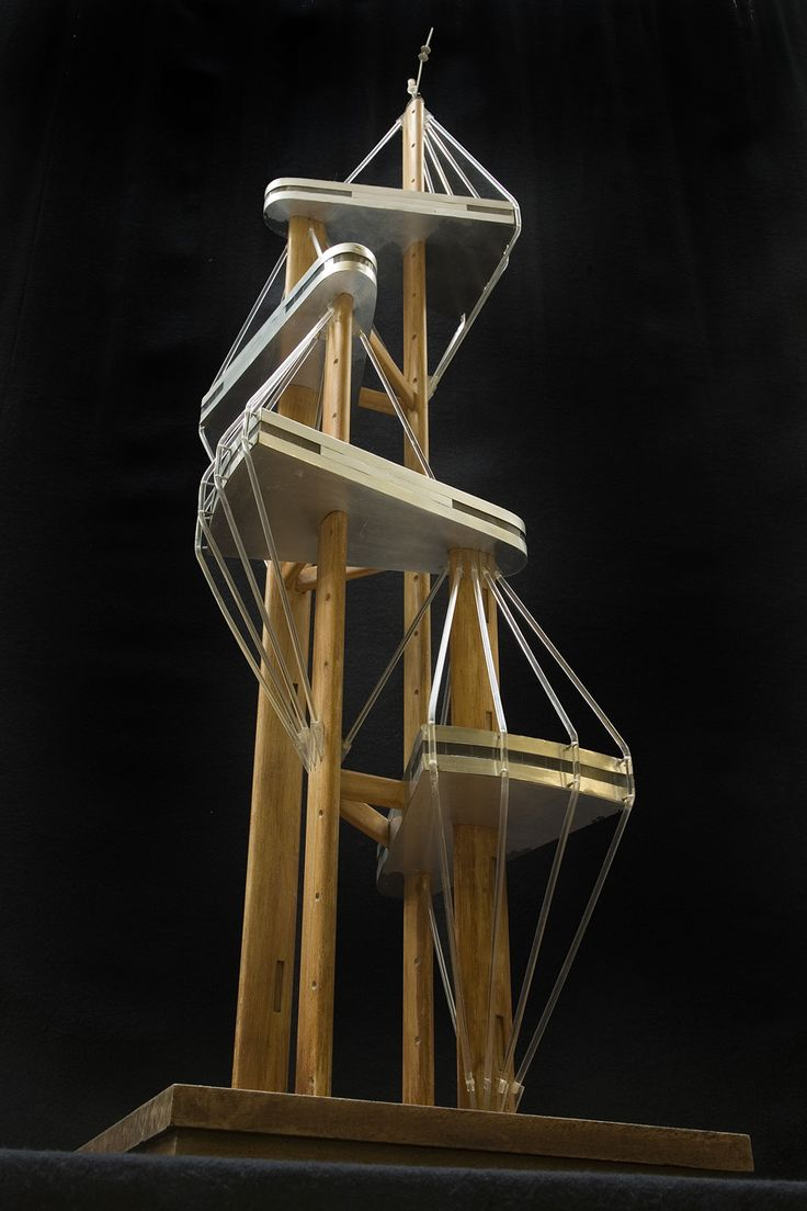 J b bakema observation tower euromast rotterdam 1958 for Observation tower house plans