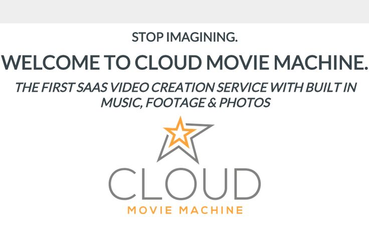 Cloud Movie Machine is AMAZING Product created by Web Dimensions, Inc. Cloud Movie Machine is TOP First SAAS Video Creation Service With Built in Music, Footage and Photos to Boost Profits. Cloud Movie Machine is the next generation of video creation – because it's online. That means with Cloud Movie Machine you can create video from almost anywhere. And, thanks to the massive amount of included music, photos and footage your video will look incredibly slick and professional