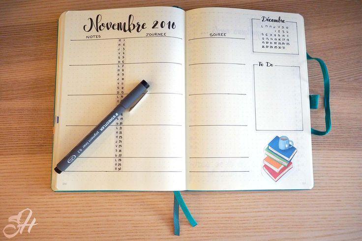 Novembre 2016 - Calendrier mensuel
