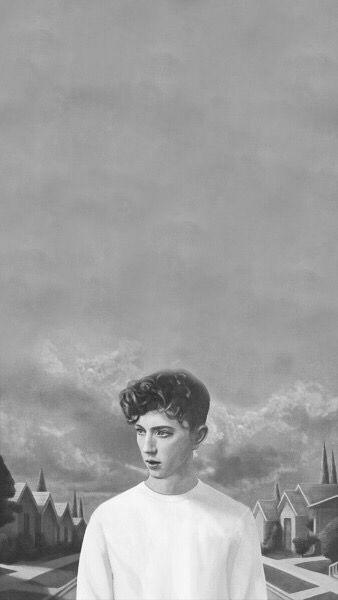 B&W || Blue Neighborhood Album Art || Troye Sivan All credit to Tumblr