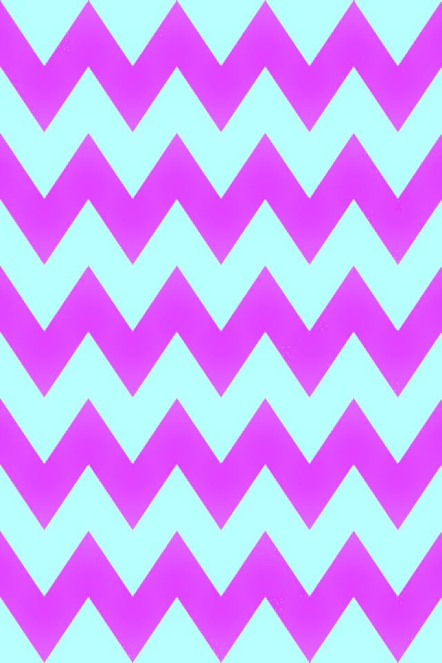 Pink and blue chevron wallpaper pattern | cute | Pinterest ...