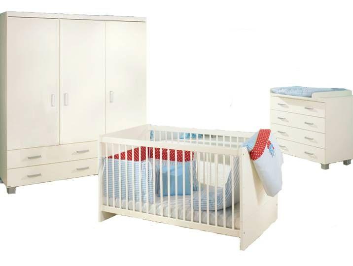 Paidi Biancomo Babyzimmer 4 Teilig Bestehend Aus 3 Turigen