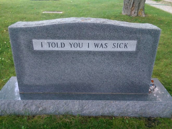 Clever Tombstones by People Whose Sense of Humor Will Live Forever