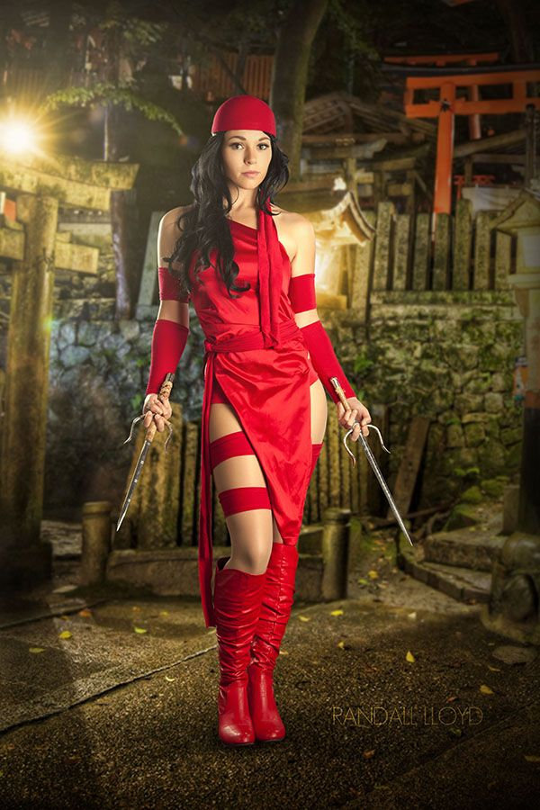 Elektra by by AspenCosplay