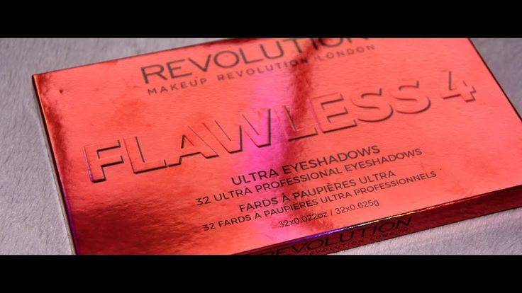 FLAWLESS 4 Eyeshadow Palette by Makeup Revolution | MICHELA ismyname ❤️