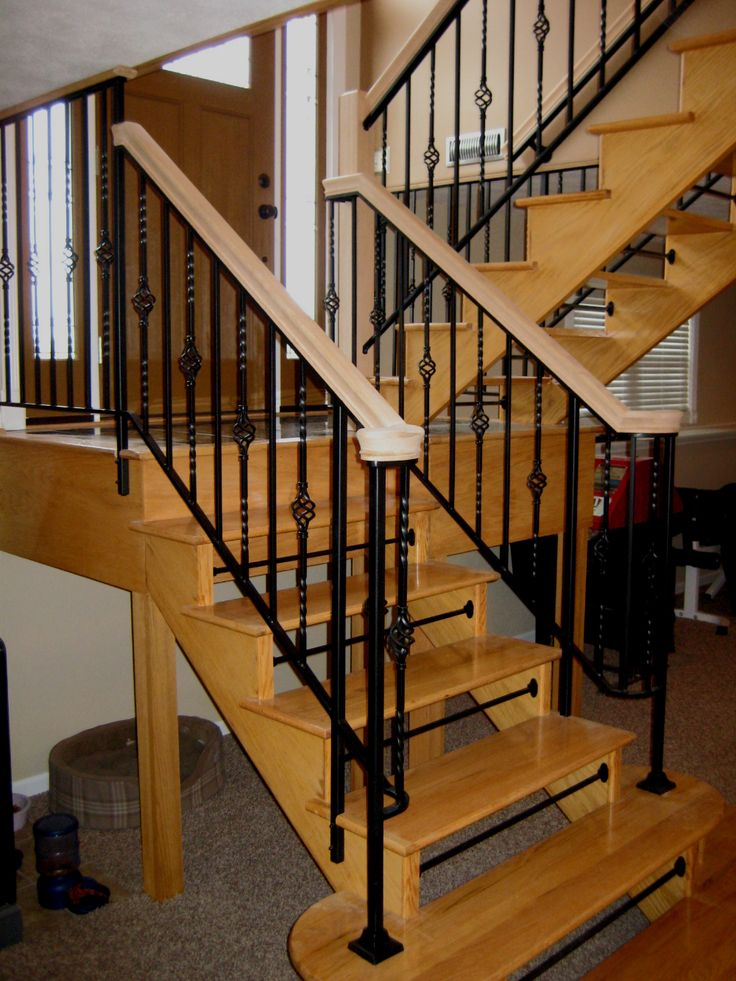 Best Metal Railings In Floyd Virginia With Basket Design Balusters By Ironworks Of Virginia Julin 400 x 300
