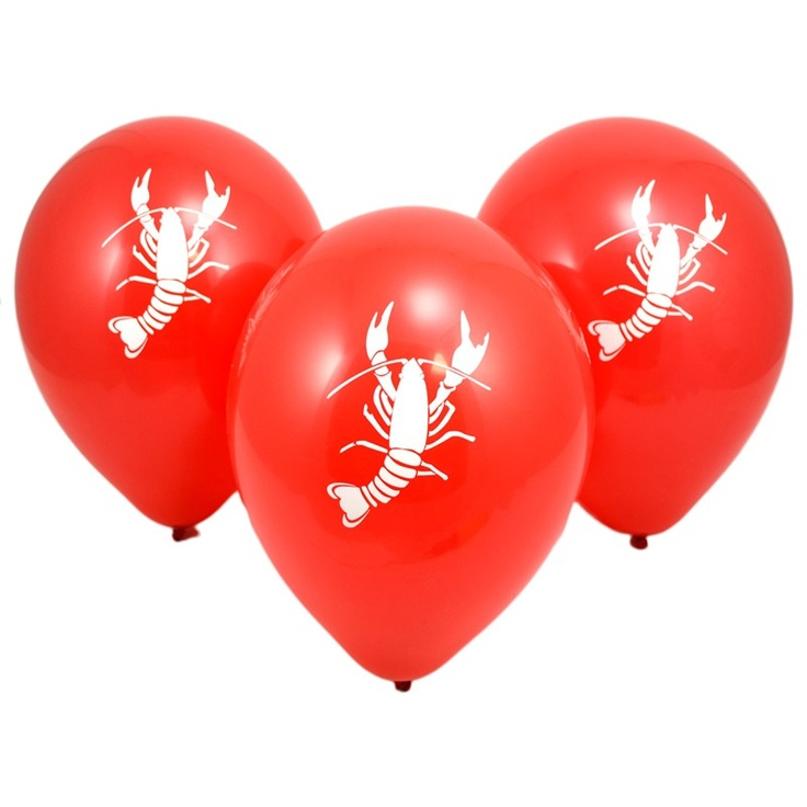 Great decorations for a crawfish boil or birthday party!