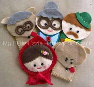 My Little Lizzie Handmade Craft: Lizzie's Storytime Collection