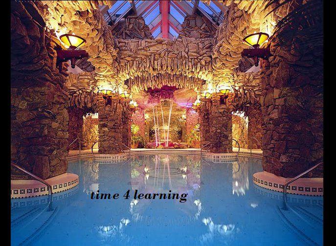 The Grove Park Inn's subterranean spa.: Indoor Pools, Favorite Places, Dream House, Groveparkinn, Grove Park Inn, Spa, Asheville Nc, North Carolina