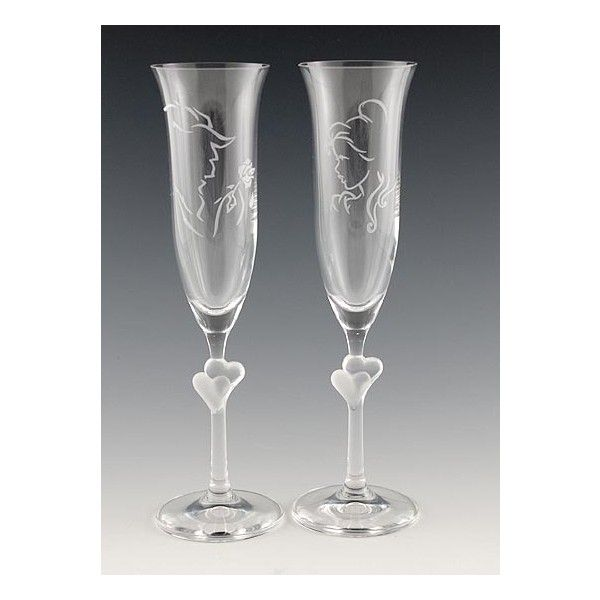 I don't drink... But seriously... I will have these at my wedding. And we will drink sparkling cider out of them. The end.