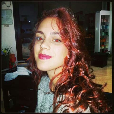 #rosso #fashon #newcolor #newlook #change