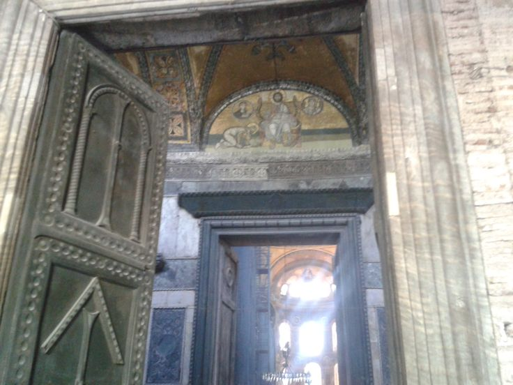 Agia Sophia door entrance