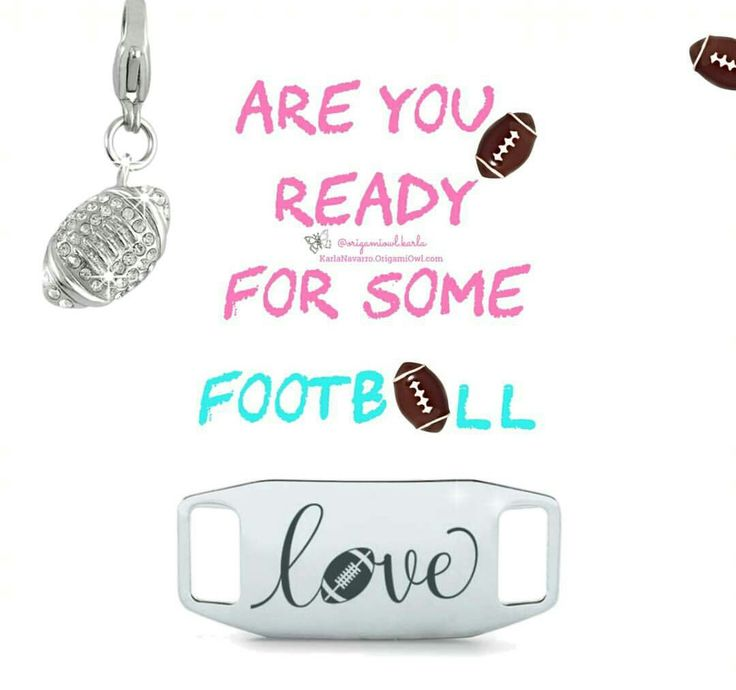 Origami Owl. Are you ready for some football. -£H
