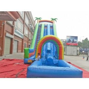 truck inflatable slide,theme inflatable slide,long inflatable slides