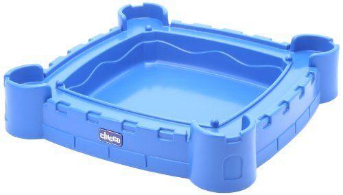 Chicco by Mondo 30600 - Castello per giocare con la sabbia, colore: Blu / Giallo
