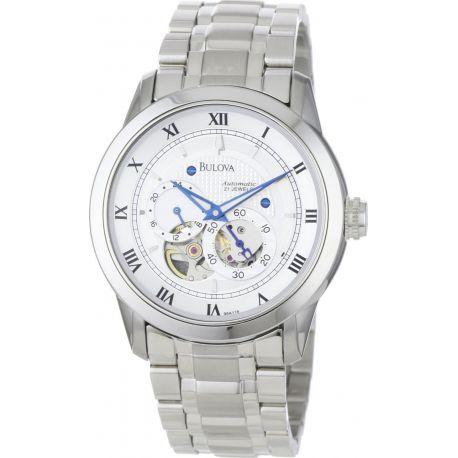 Reloj Bulova Ventana de cristal Modelo 96A118