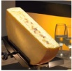 Raclette French cheese