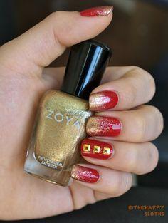 Studded Iron Man Nails