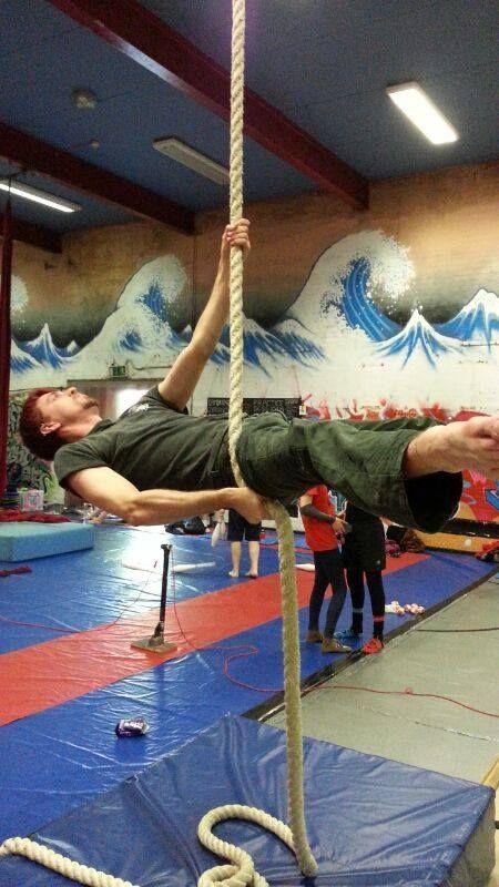 Half Planche on Corde Lisse by Loki Peroformances