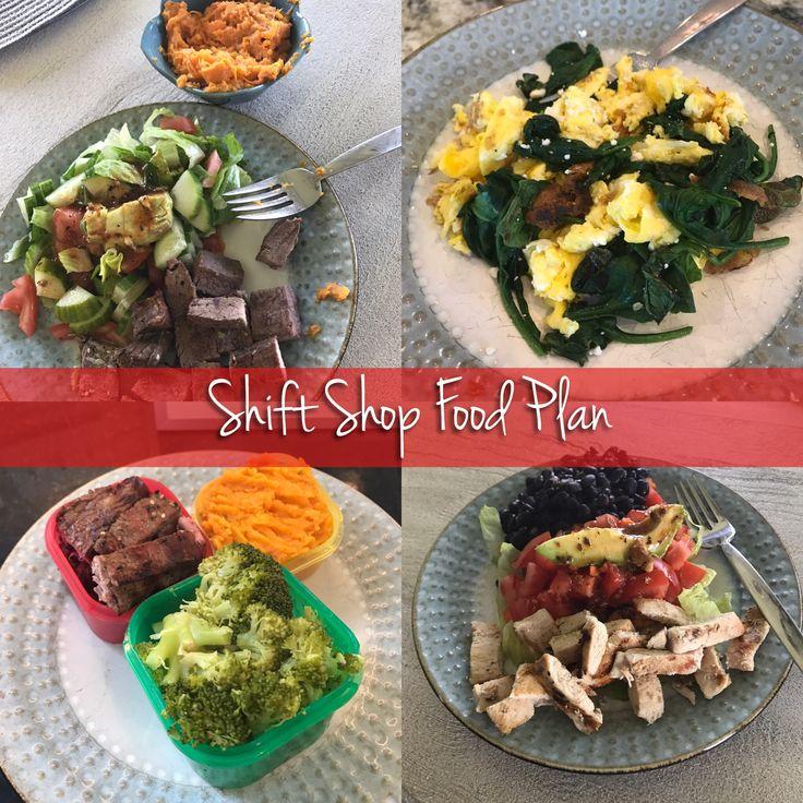Shift Shop Nutrition Plan, Melanie Mitro, Top Coach, Coach Test Group, Food