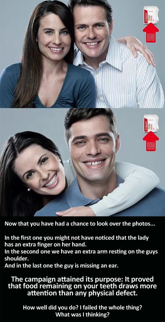 Funny Pictures About Clever Colgate Ad Campaign Oh And Cool Pics Also Photos