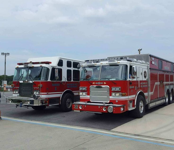 Baltimore, MD The Current and the new Rescue 1 Fire