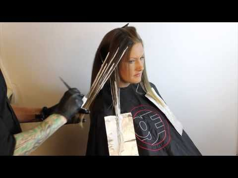 ▶ Ombré How to- Balayage-Driven Ombré Technique featuring Brian Haire - YouTube