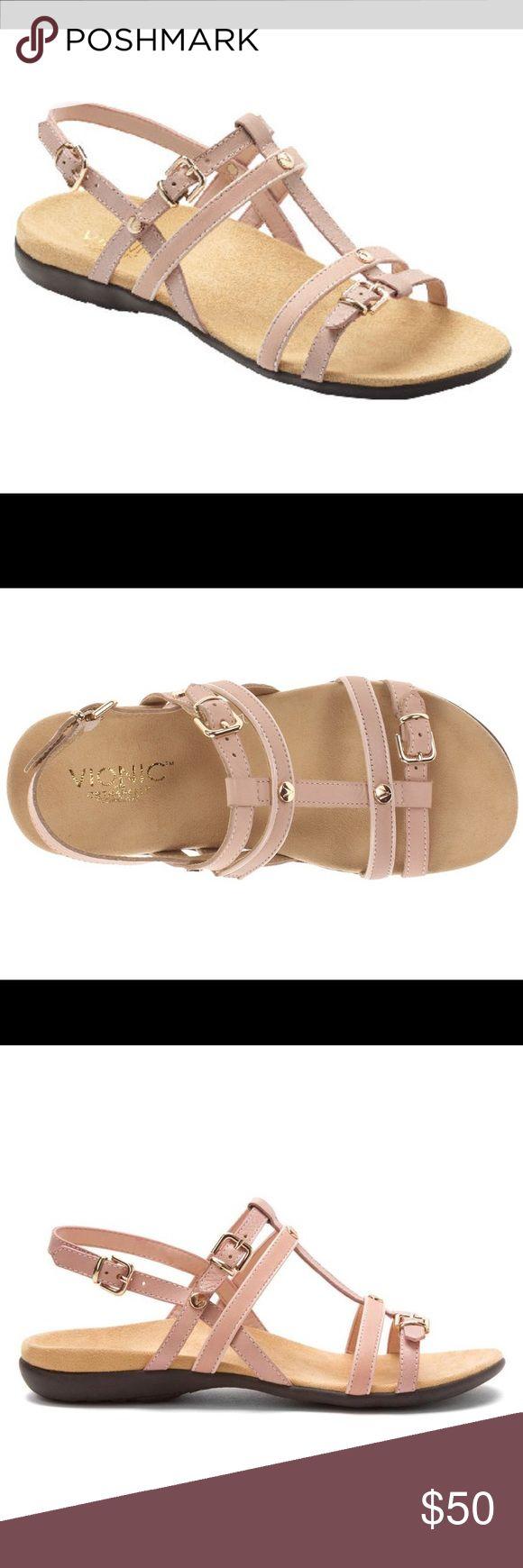Vionic Orthoheel Blush Coro Sandals 11 Orthopedic sandals Vionic Shoes Sandals