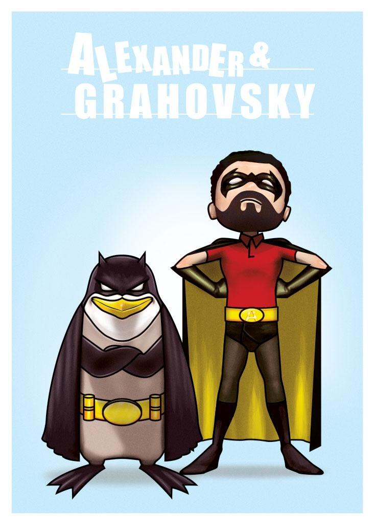 "Alexander & Grahovsky ""Sofa Heroes""    http://alexandergrahovsky.com/"