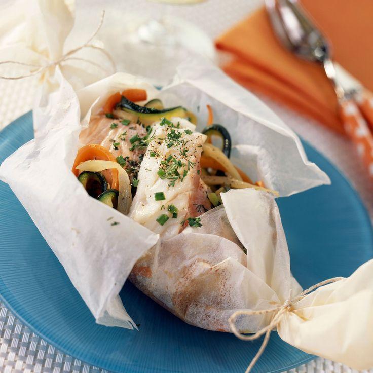 Découvrez la recette du saumon en papillote
