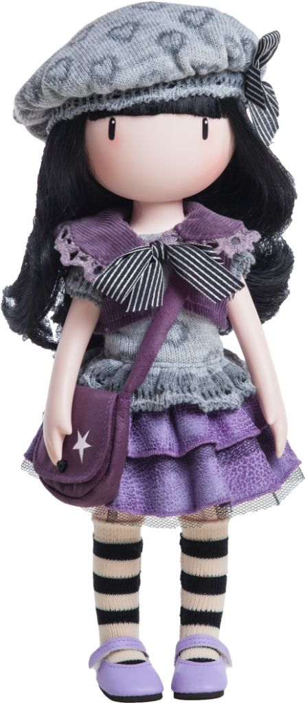 LITTLE VIOLET - Santoro Gorjuss Doll made of vinyl and 32cm tall with distinctive inwards turned toes and delicate hands just like the artwork - from www.mydollbestfriend.co.uk