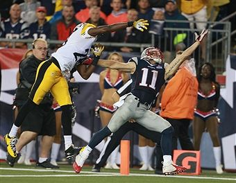 Pittsburgh Steelers Vs. New England Patriots At Gillette Stadium ...